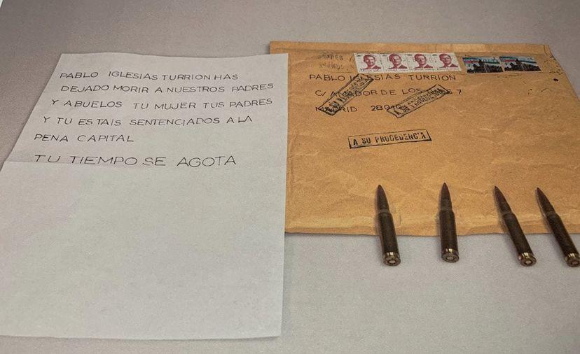 ¿Es posible la identificación del autor de la carta amenazante, remitida a Pablo Iglesias?
